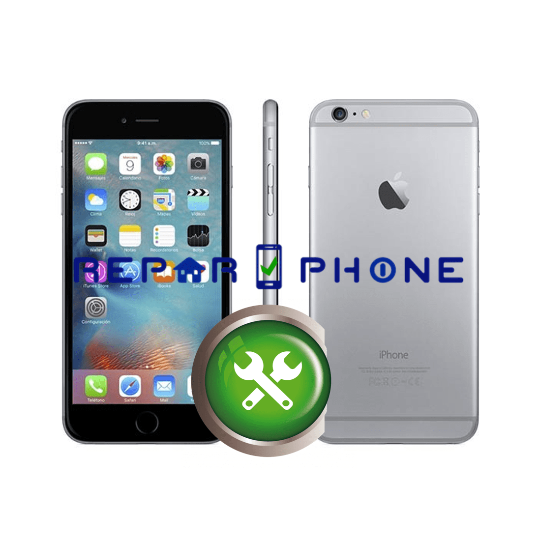 Reparar iPhone 6 Plus en Madrid