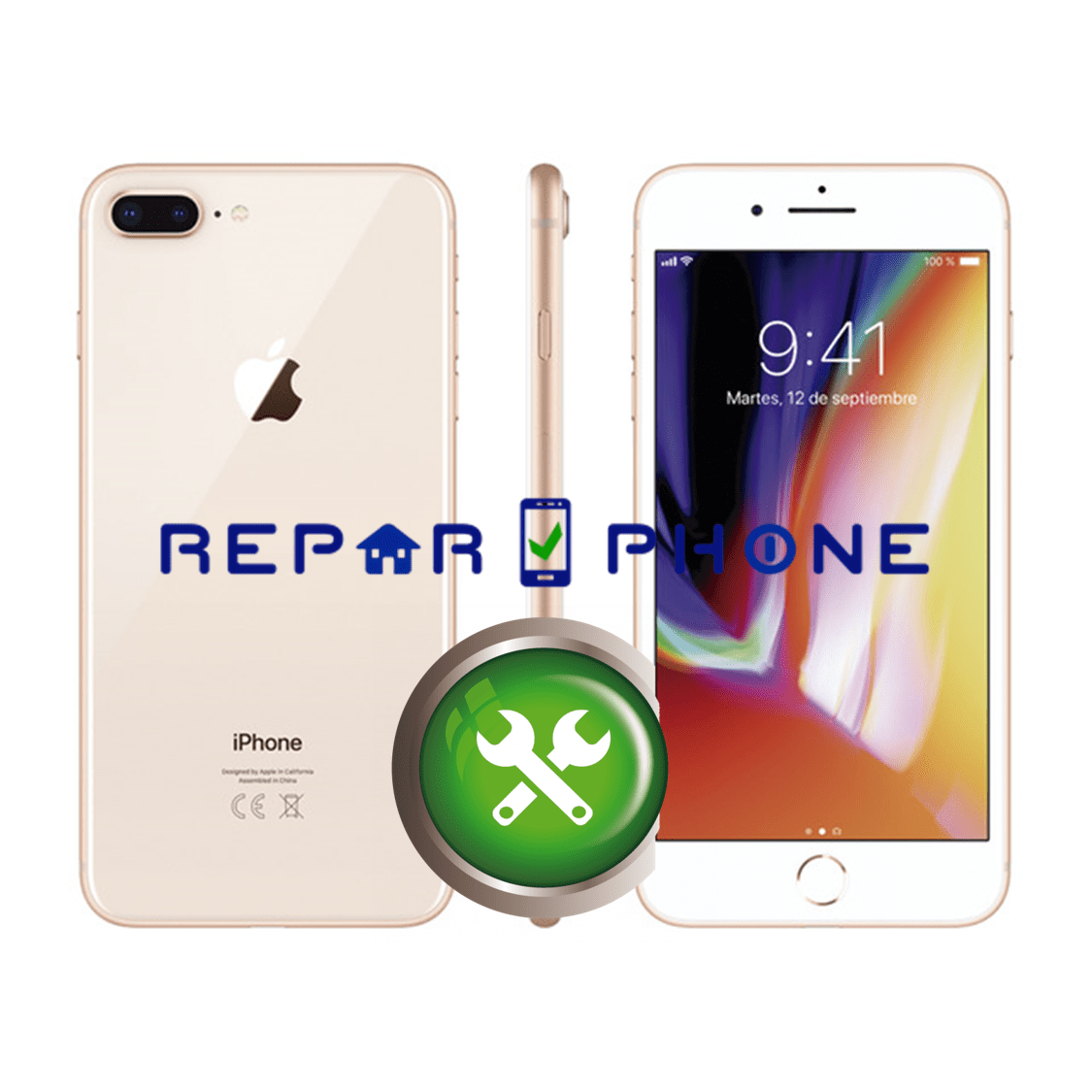 Reparar iPhone 8 Plus en Madrid